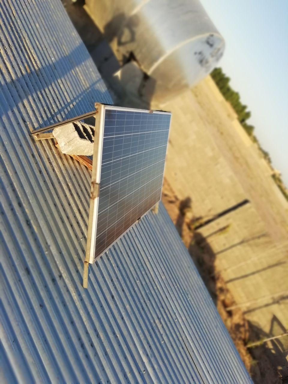 برق خورشیدی روستایی