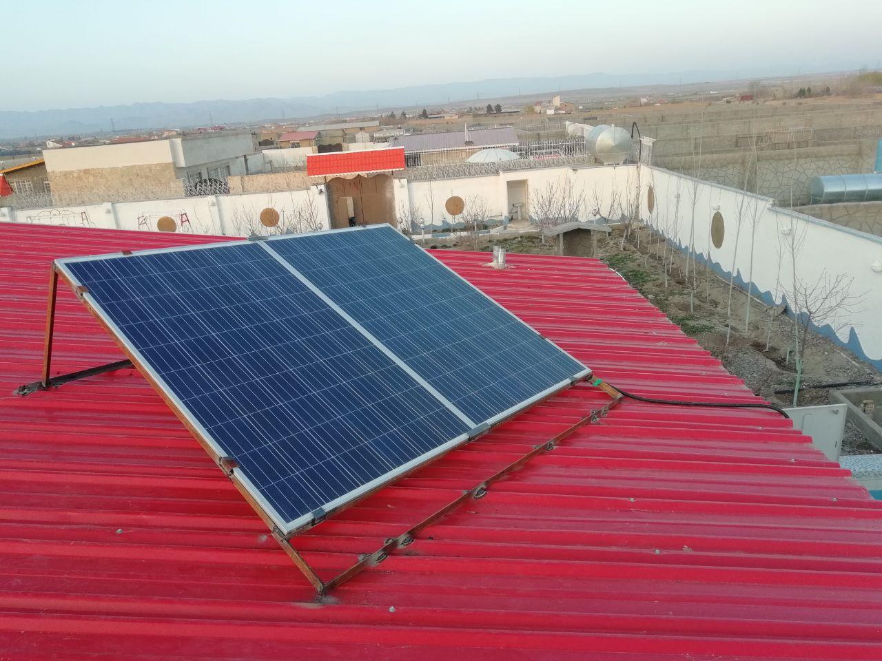 برق خورشیدی برای یخچال
