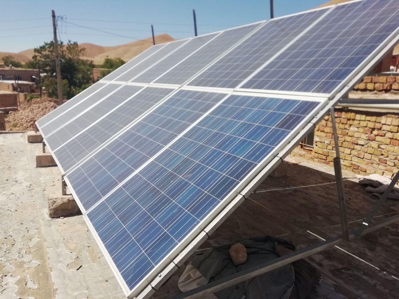 پکیج 1200 واتی برق خورشیدی . 09913566338