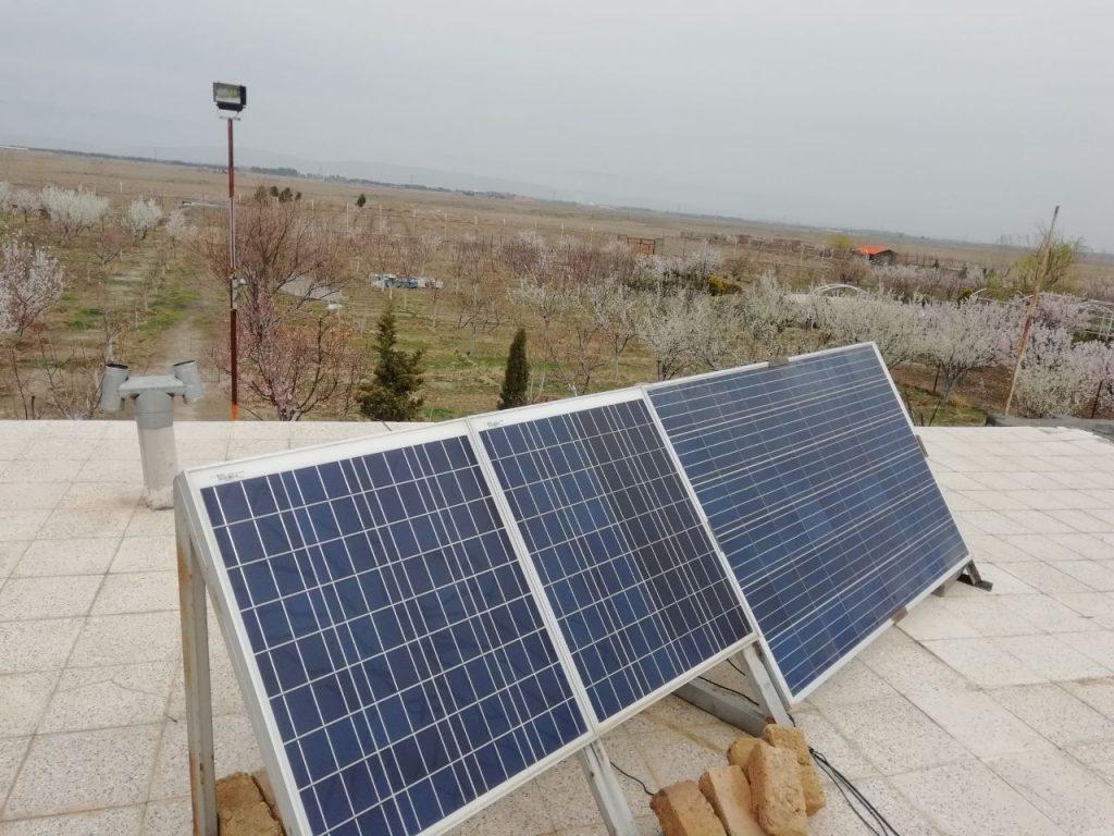 سیم کشی سیستم های برق خورشیدی