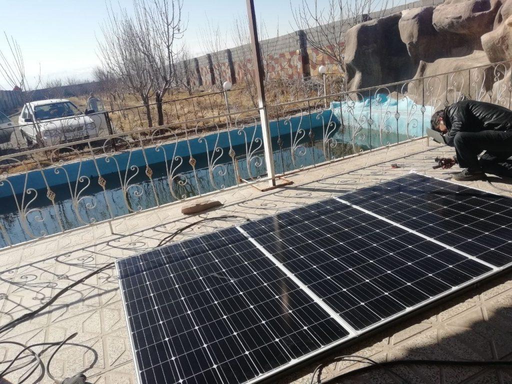 اشنایی با برق سیستم خورشیدی