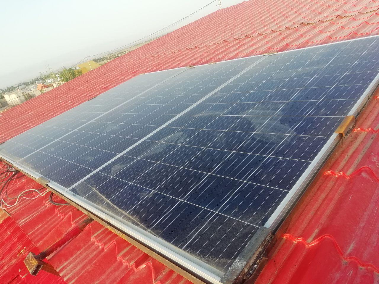 برق صفحه خورشیدی