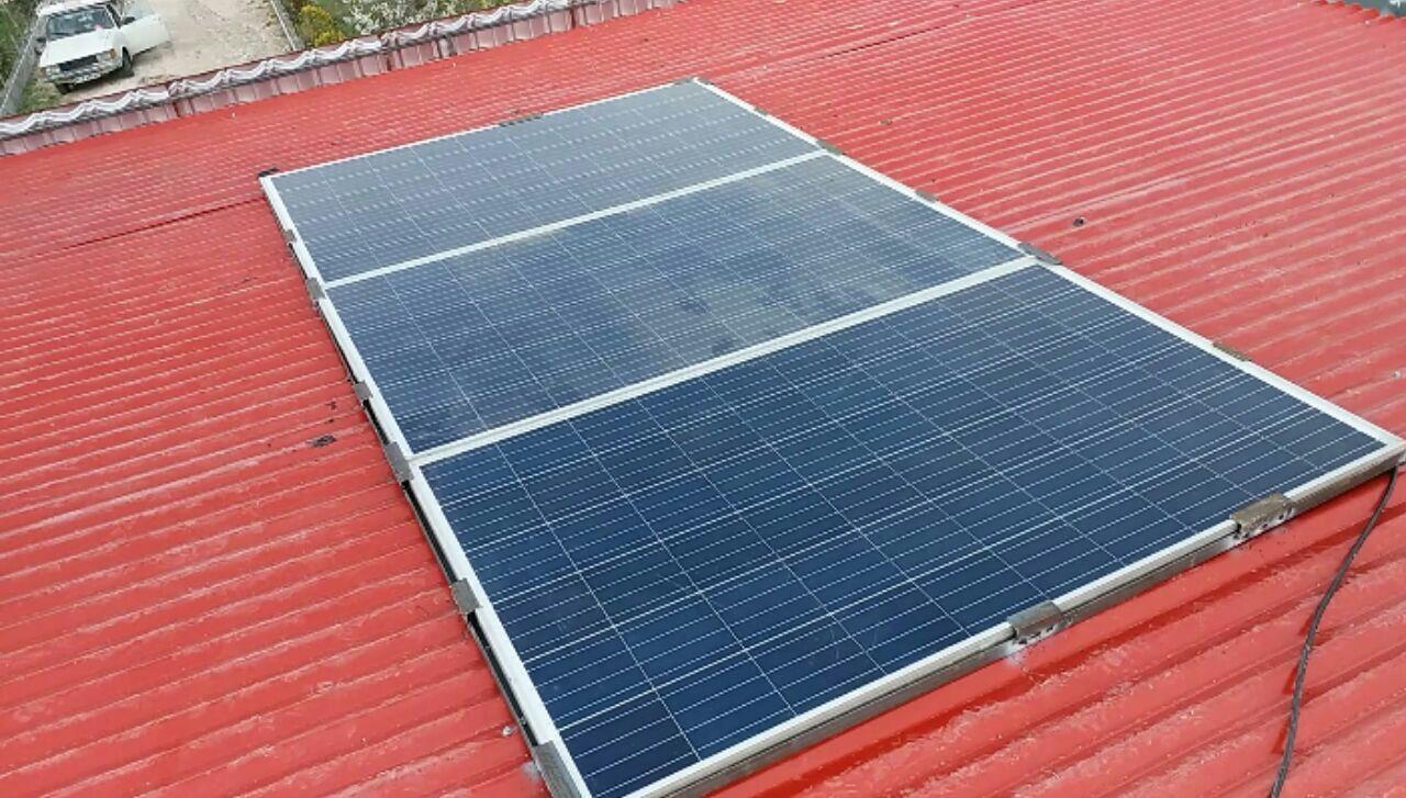 تولید برق خورشیدی صنعتی