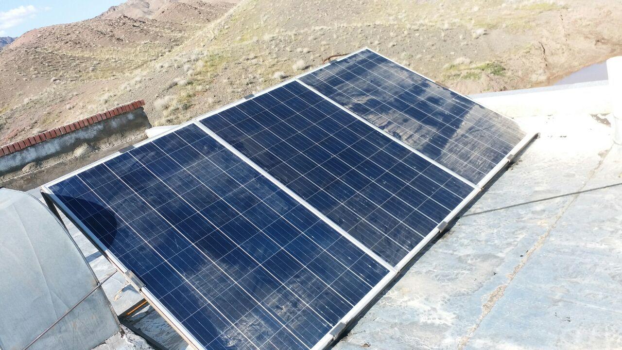 سیستم خورشیدی صنعتی در تهران