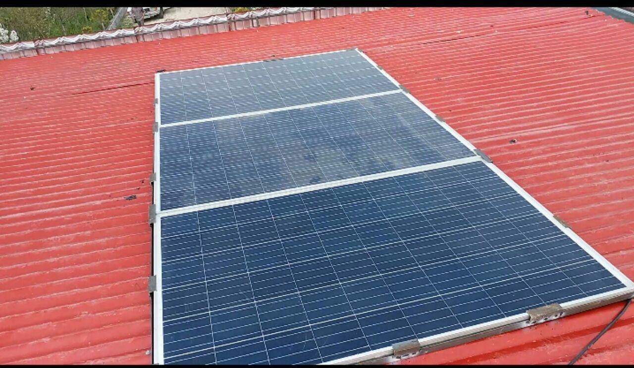 پکیج آماده ارسال برق خورشیدی