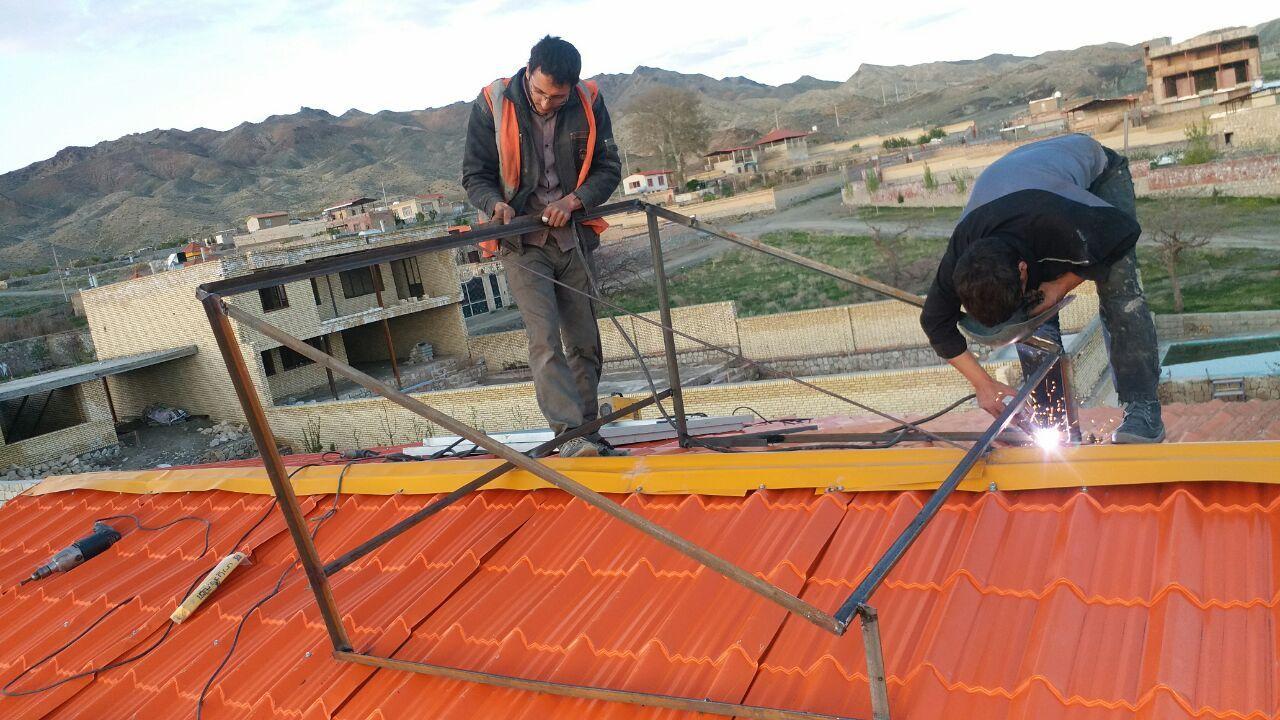 راه اندازی یخچال هتلی 5 فوت با برق خورشیدی