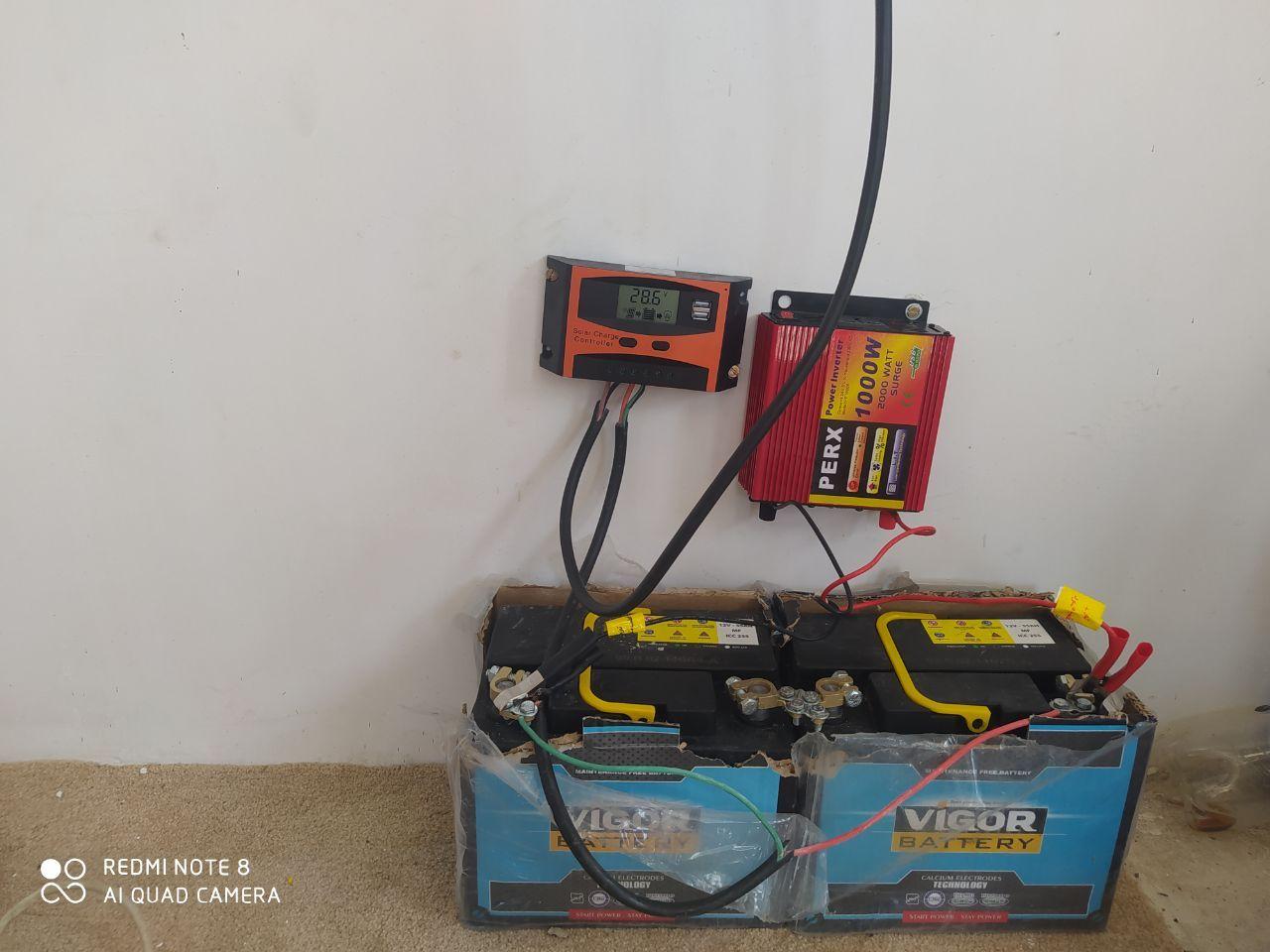 راه اندازی سیستم برق خورشیدی با سانورتور