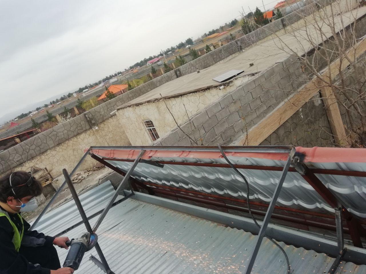 سیستم برق خورشیدی خانگی مصارف روشنایی پنکه تلوزیون