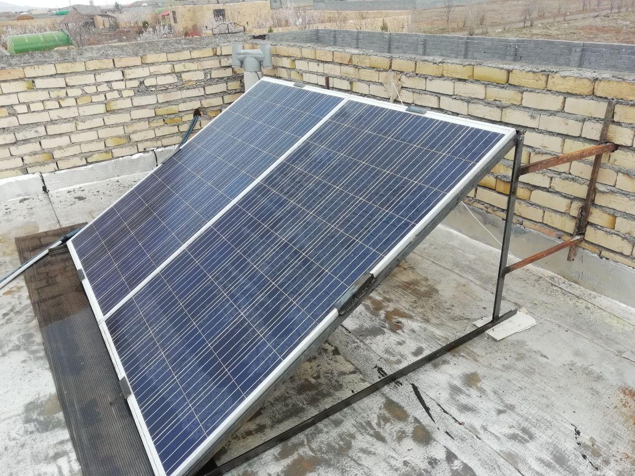 کم کردن مصرف با سیستم برق خورشیدی UPS طلا فروشی