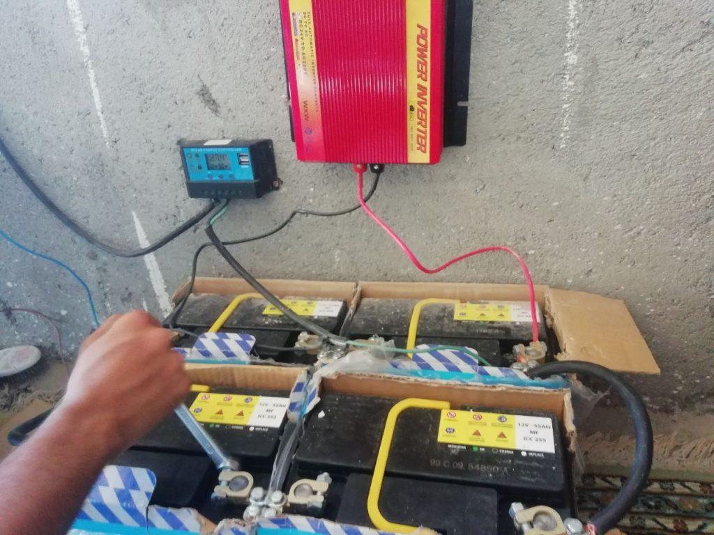 باکس باطری سیستم های خورشیدی