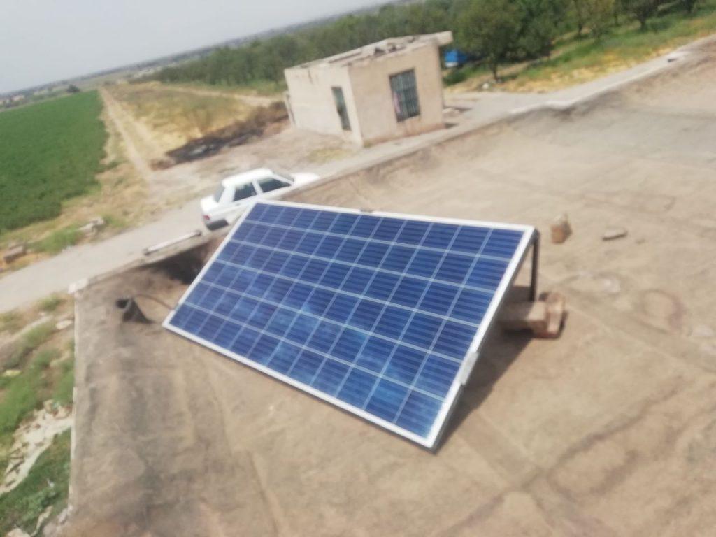 باکس باطری سیستم خورشیدی در پروژه ی پنجتن