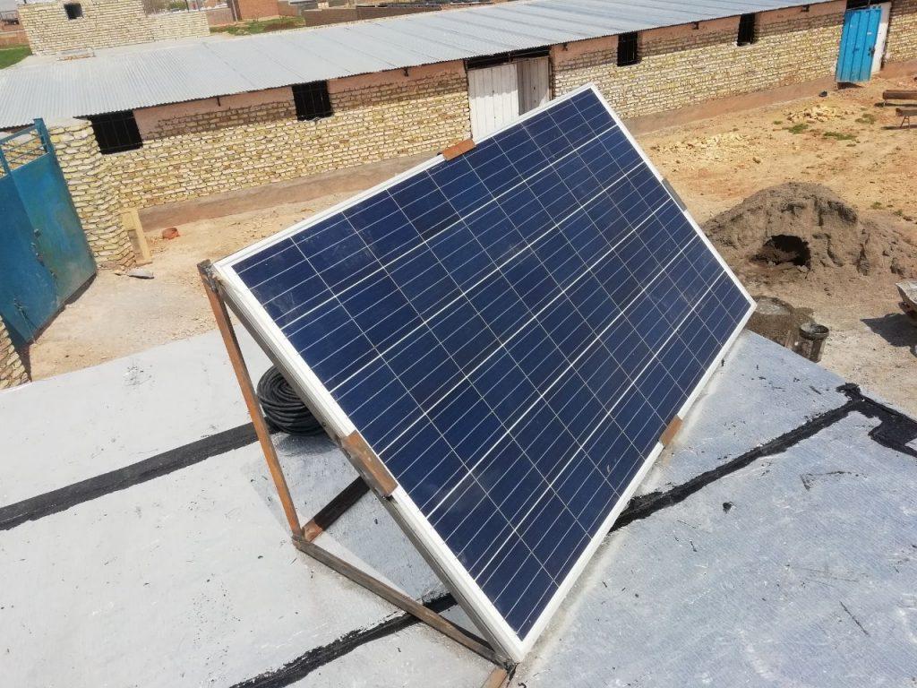 راه اندازی سیستم خورشیدی در نصراباد