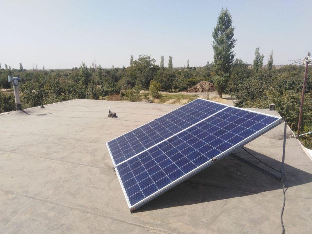 راه اندازی تجهیزات موتوری با سیستم خورشیدی