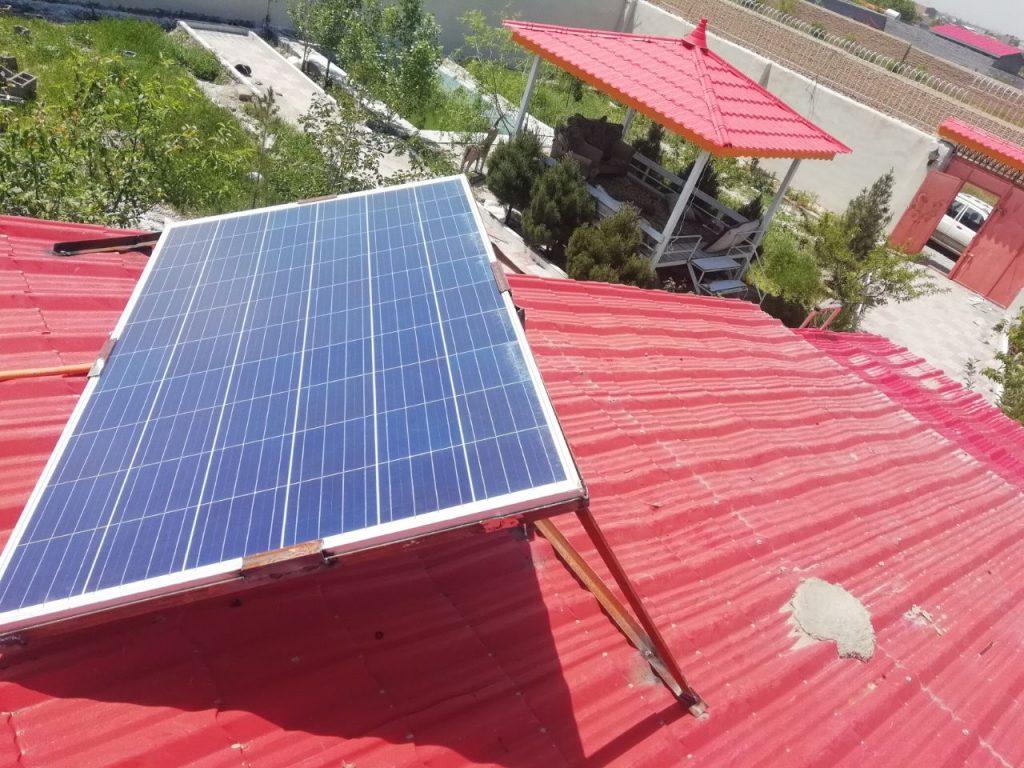 نحوه نصب پنل های برق خورشیدی